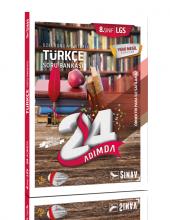 Sınav Yayınları 8. Sınıf Lgs Türkçe 24 Adımda Özel Konu Anlatımlı