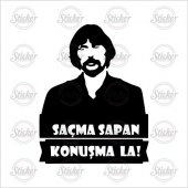 Behsat Ç Şeffaf Sticker 20056
