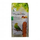 Gardenmix Platin Seri Vitaminli Meyveli Muhabbet Kuşu Yemi 1 Kg (5 Adet)