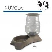 Mp Nuvola Kedi Köpek Mama Kabı 3.8 Litre Kahverengi