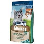 Happy Cat Minkas Mix Tavuk,kuzulu Kedi Maması 10 Kg