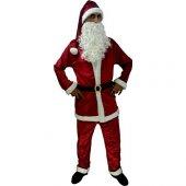 Noel Baba Kostümü Kadife