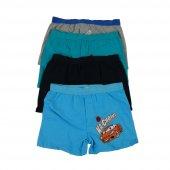 Koza Erkek Çocuk Renkli Desenli Boxer 6 Lı Paket