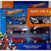 Hot Wheel 6 Lı Araba Seti
