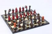 Satranç Takımı, Kh. 056, Osmanlı Ve Kırmızı...