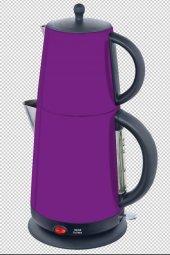 Awox Demplus Elektrikli Renkli Çelik Çay Makinesi ...