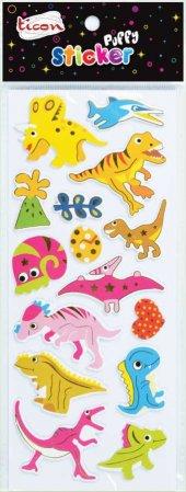 Ticon 138042 Sticker Puffy Tps 12