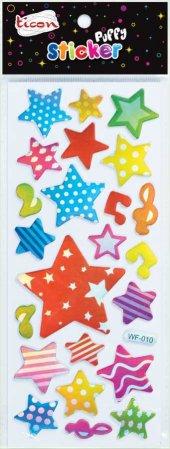 Ticon 138055 Sticker Puffy Tps 18