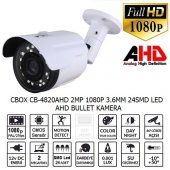 Cbox Cb 4820ahd 2 Mp 1080p 3.6mm 24smd Led Ahd Bullet Kamera