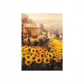 Sunflower Garden Kanvas Tablo 50x70 Cm