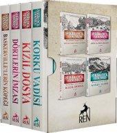 Sherlock Holmes Roman Seti 4 Kitaplık Kutulu Set