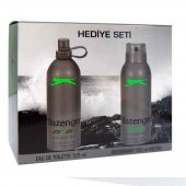 Slazenger Edt Active Sport Yeşil Deodorant Hediyel...