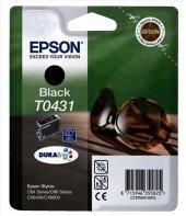 Epson T0431 C13t04314020 Siyah Orjinal Kartuş