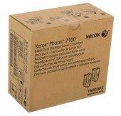 Xerox Phaser 7100 106r02612 Siyah Orjinal Toner 2li Paket
