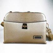 Silver Polo Altın Rengi Askılı Kadın Çantası #1015