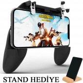 Pubg Fortnite Ateş Tetik Düğmesi Oyun Aparatı Konsol W10 Gamepad