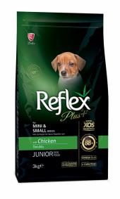 Reflex Plus Küçük&mini Irk Tavuklu Yavru Köpek Maması 3 Kg