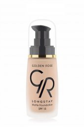 Golden Rose Dayanıklı Mat Fondöten Longstay Matte Foundation No