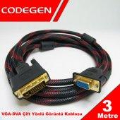 Codegen 3m Dvı Vga M F Çevirici Kablo Cpd19