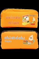 Tonguç Çift Gözlü Kalem Çantası Tonguç Akademi