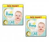 Prima Jumbo Premium Bebek Bezi 4 32 Adet*2 Adet
