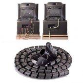 Kablo Toplayıcı Kablo Düzenleyici Spiralli Toplama Kablosu