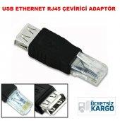 Usb Ethernet Rj45 Dönüştürücü Çevirici Adaptör