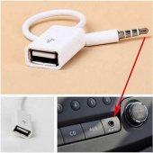 Usb To Stereo Aux Kablo Stereo Erkek Ses 3.5mm Mp3 Player Telefon