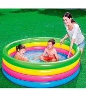 Bestway Büyük Boy 4 Boğum, Şişme Bahçe,teras Aile Ve Çocuk Havuzu (157x46 Cm) 51117