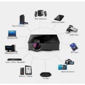 Unic Uc46 Full Hd Plus Led Wireless Kablosuz Görüntü Aktarımlı Projeksiyon Cihazı 1080p 1200 Lümen
