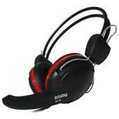 Frısby Fhp 235 Stereo 3.5mm Jack Siyah Kırmızı Mikrofonlu Kulaklı