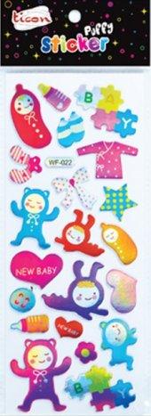 Ticon 138067 Sticker Puffy Tps 25