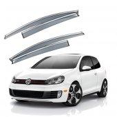 Volkswagen Golf 7 Krom Çıtalı Cam Rüzgarlığı...