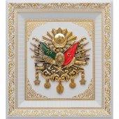 52 X 58 Cm Lüks Osmanlı Devlet Arması Çerçeve
