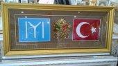Osmanlı Kayı Boyu Iyı Osmanlı Arması Ve Türk Bayrağı Tablo