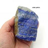 Lapis Lazuli Doğal Kütle Afganistan 18 1