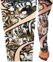 Tattoo Göz Motifli Giyilebilir Dövme