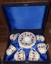 Güral Porselen Altınyaldız Kahve Fincan Takımı 12 Parça