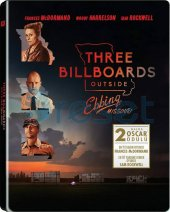 Three Billboards Outside Ebbing Missouri Steelbook Blu Ray