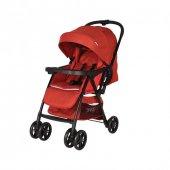 Prego 2095 Picallo Çift Yönlü Bebek Arabası Kırmızı