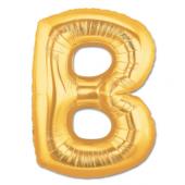 B Harf Folyo Balon Altın Renk 40 İnç