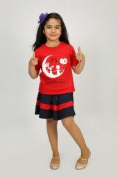 Unisex Çocuk Tişört 23 Nisan Baskılı