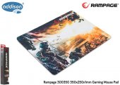 Addison Rampage 300350 350x250x1mm Gaming Mouse Pad