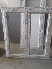 120x140 Orpen Tek Cam,çift Kanat Pencere