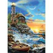 Ks Games 500 Parça Twilight Lighthouse Puzzle (Adr...