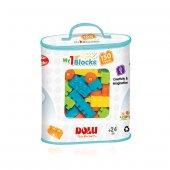 5017 Mini Bloklar 150 Parça Baskılı Torbada