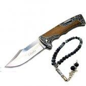 Columbia B3157 D Kamp Av Bıçağı Çakı Bıçak+ Taş Tesbih Hediye
