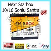 Next Starbox Ye 10 16 Sonlu Adaptörlü Merkezi Uydu Santrali