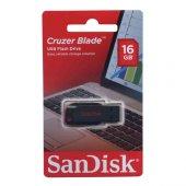 Sandisk Cruzer Blade 16gb Usb Bellek (Sdcz50 016g B35)