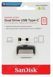 Sandisk Ultra Dual Drive Type C 64gb Otg Usb Bellek Sdddc2 064g G46